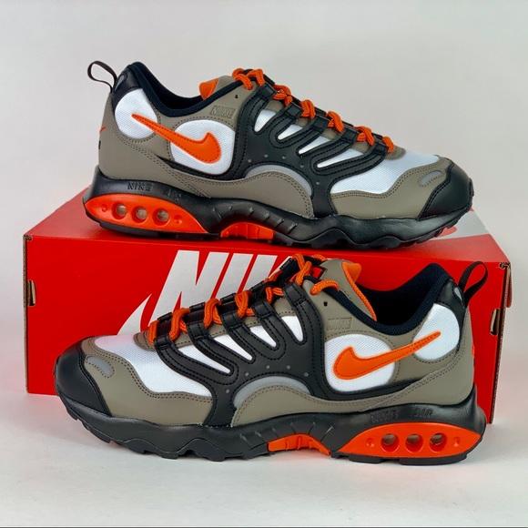 6e87d96193 Nike Shoes   Air Terra Humara 18 Olive Graydeep Orange   Poshmark